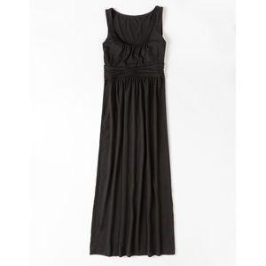 Boden Black Sleeveless Maxi Dress